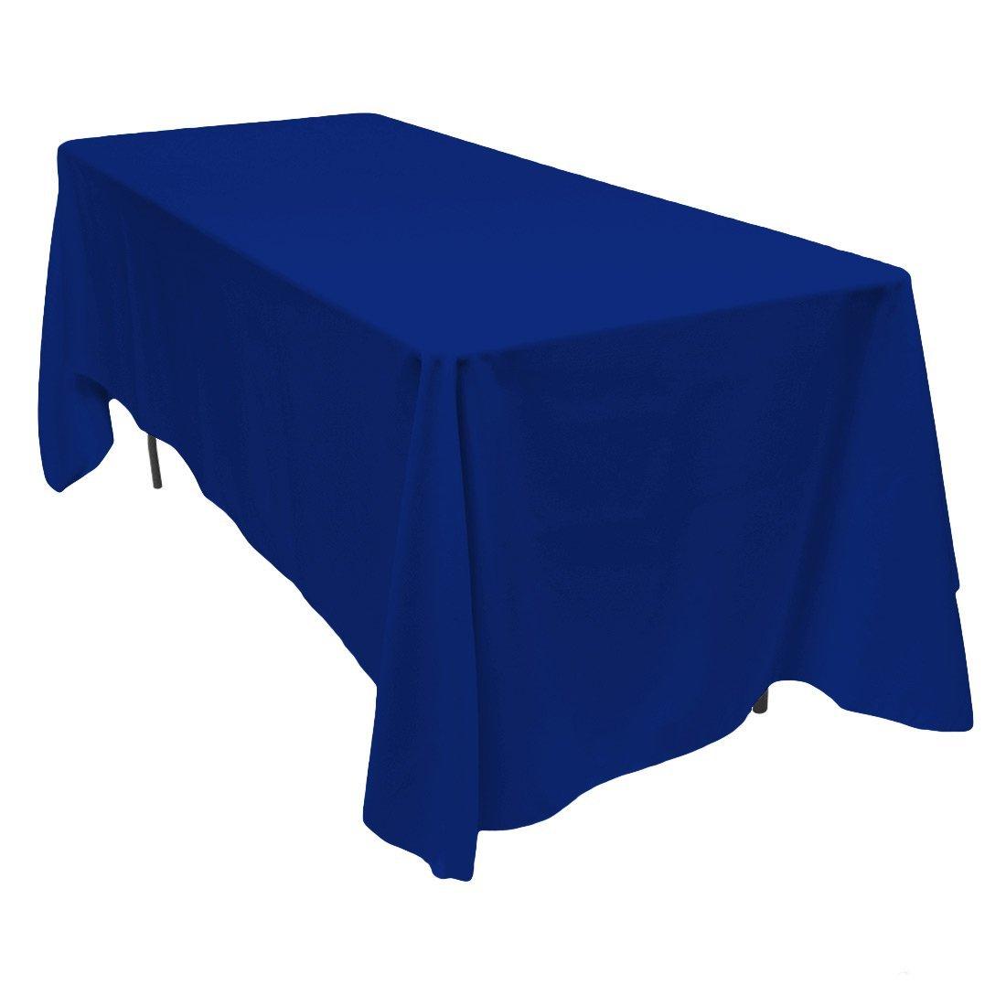 Toalha azul royal banquete